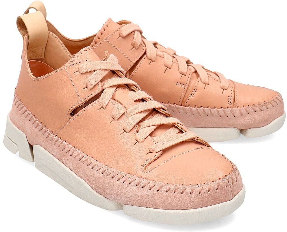Clarks Trigenic Flex. - Sneakersy Damskie - 26148412