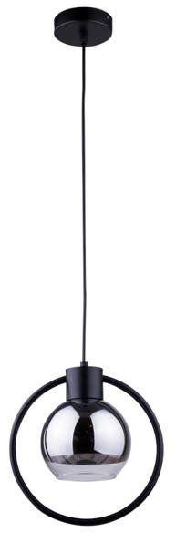 Lampa sufitowa wisząca LINDA 1 ZWIS czarny 31893