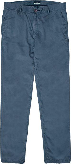 Double Urban Outfitters Duże Spodnie Chino Niebieskie