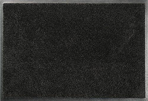 ID mat t c608020 confor dywan wycieraczka włókno nylon/guma nitrylowa czarna 80 x 60 x 0,7 cm