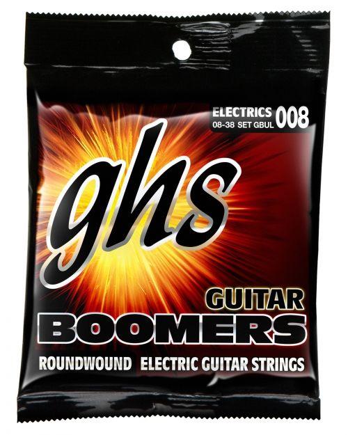 GHS Guitar Boomers struny do gitary elektrycznej, Ultra Light, .008-.038