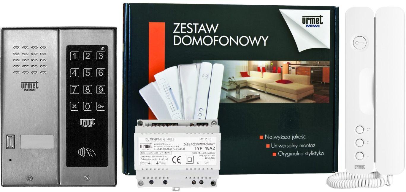 Zestaw domofonowy 5025/401-ZK-RF MIWI-URMET