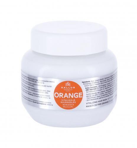 Kallos Cosmetics Orange maska do włosów 275 ml dla kobiet