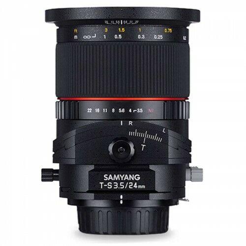 Samyang 24mm F3.5 Tilt-Shift Canon