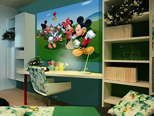 Disney Junior Disney Myszka Miki Minnie fototapeta do pokoju dziecięcego, papieru, wielokolorowa, 0,1 x 160 x 115 cm