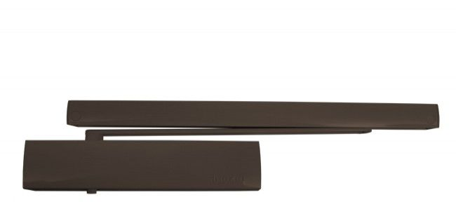 Samozamykacz TS5000 Ecline z szyną Ecline i z blokadą Ecline brąz