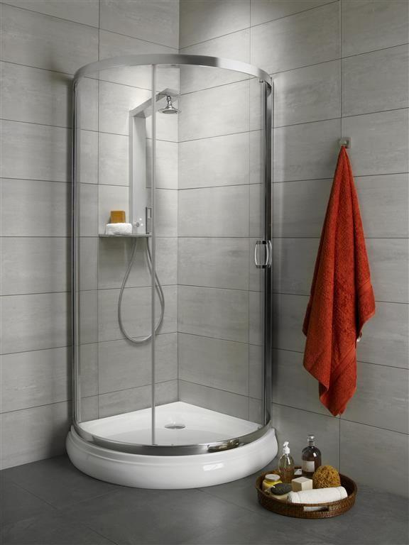 Kabina prysznicowa półokrągła Radaway Premium Plus B 90 szkło przejrzyste wys. 190 cm. 30473-01-01N