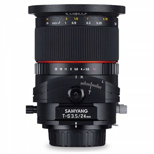 Samyang 24mm F3.5 Tilt-Shift Nikon
