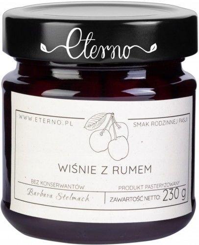 Konfitura wiśnie z rumem Eterno 230g
