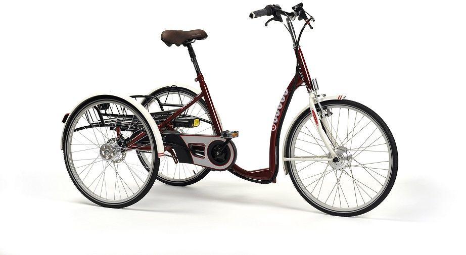 Rower trójkołowy rehabilitacyjny elektryczny LAGOON-E (dla dorosłych) Vermeiren