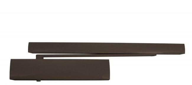 Samozamykacz TS5000 Ecline z szyną Ecline i bez blokady Ecline brąz