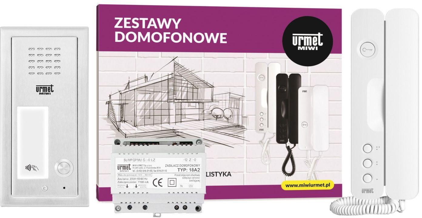 Zestaw domofonowy 6025/401-RF MIWI-URMET