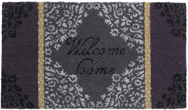 HMT 147301 Vintage wycieraczka Coco 40 x 70 cm, fioletowa, 40 x 70 cm
