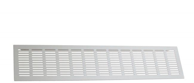 Kratka wentylacyjna G61 500x100 mm ALUMIN. F1.pow. czynna kratki 165cm2,przepływ13,7dm3/s