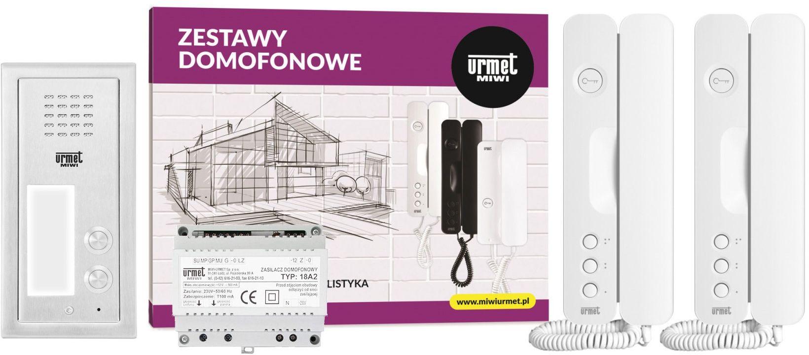 Zestaw domofonowy 6025/402 MIWI-URMET