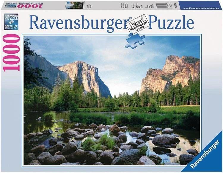 Puzzle 1000 Park narodowy Yosemite - Ravensburger