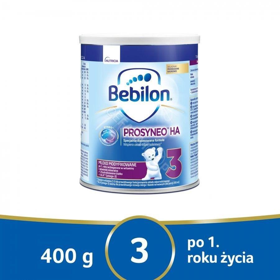 Bebilon Prosyneo HA 3 mleko modyfikowane po 1 roku 400 g