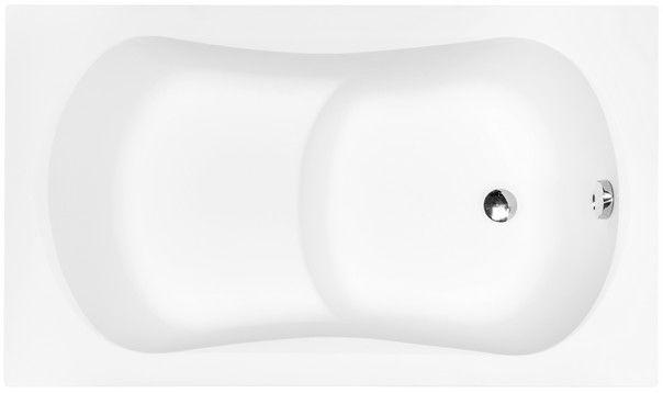 Besco Aria Rehab 120x70cm wanna prostokątna z siedziskiem #WAR-120-PA