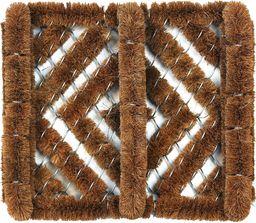 ID Mat te 3135 kratki mata drzwiowa z włókna kokosowego / ocynkowana beżowa 35 x 31 x 6,2 cm