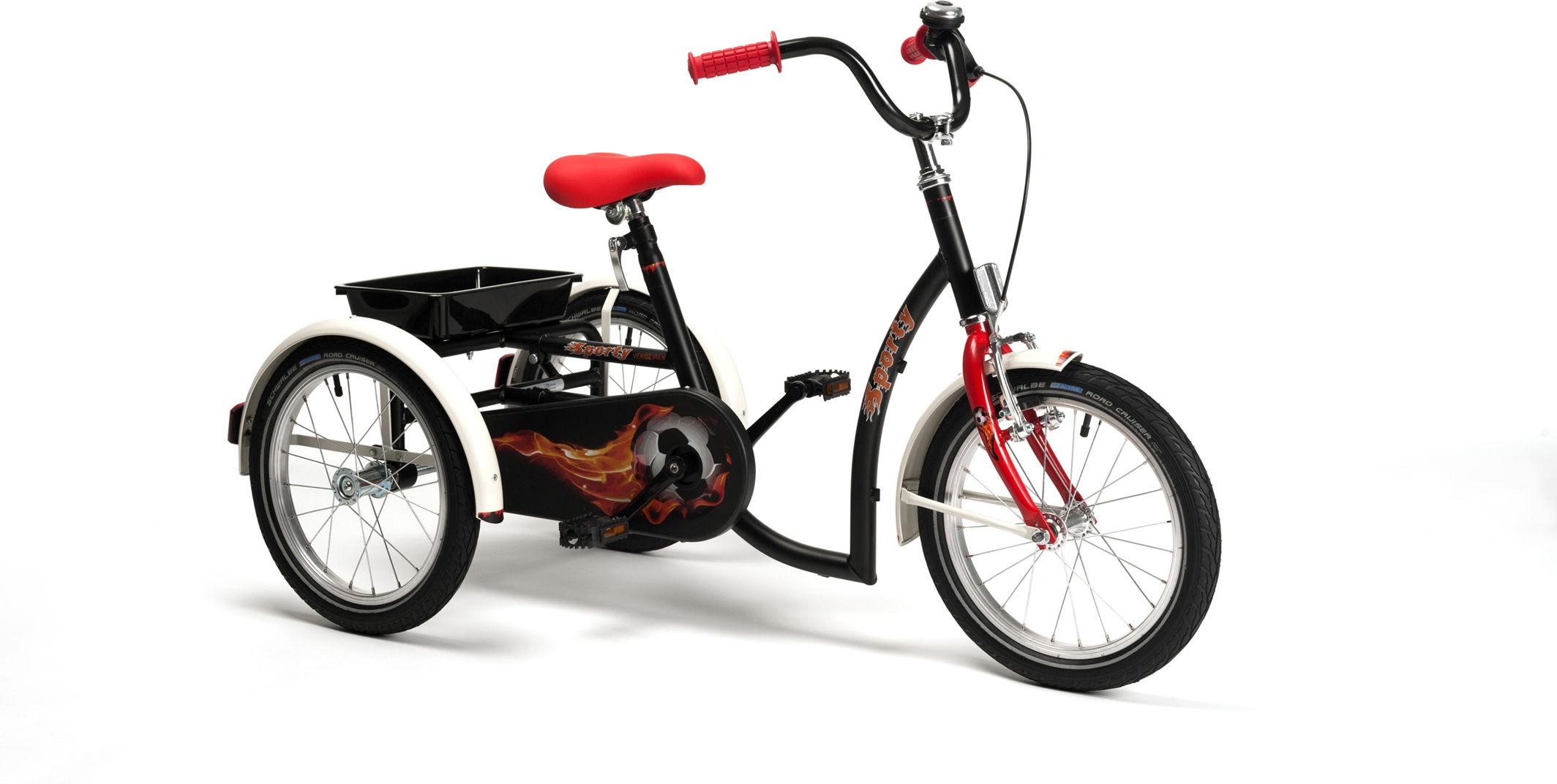 Rower trójkołowy rehabilitacyjny SPORTY (dla chłopców 8-13lat) Vermeiren