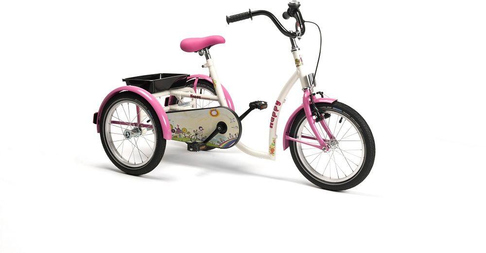 Rower trójkołowy rehabilitacyjny HAPPY (dla dziewczynek 8-13lat) Vermeiren