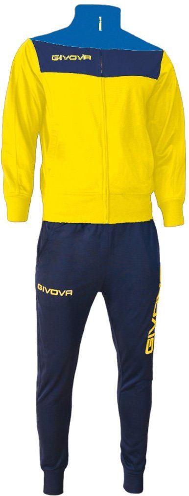 Givova, kombinezon campo, żółty/niebieski, XL