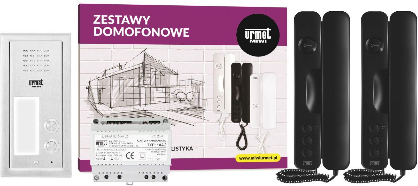 Zestaw domofonowy 6025/442 MIWI-URMET