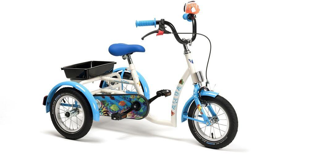 Rower trójkołowy rehabilitacyjny AQUA (dla dziewczynek 3-7lat) Vermeiren