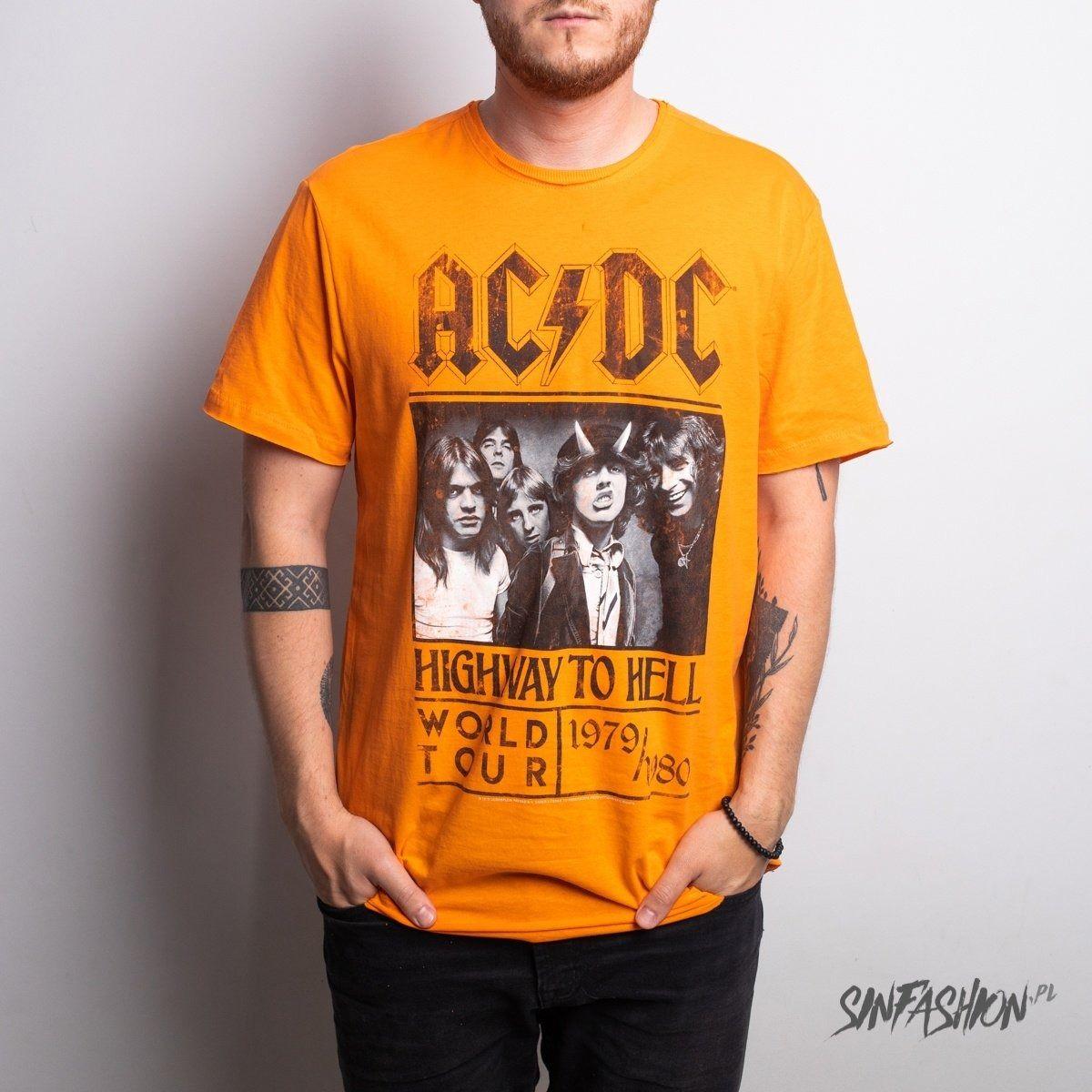 Koszulka amplified ac/dc highway to hell oc