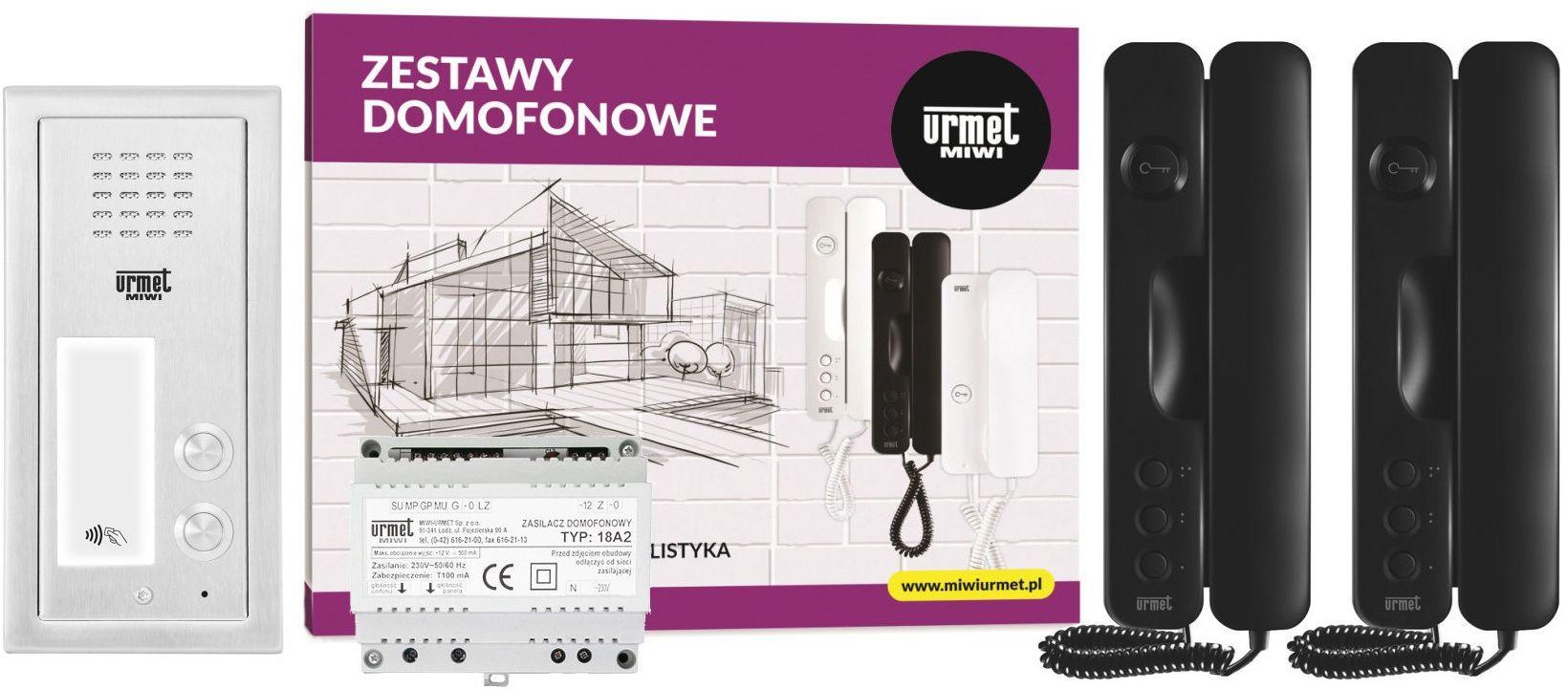 Zestaw domofonowy 6025/442-RF MIWI-URMET