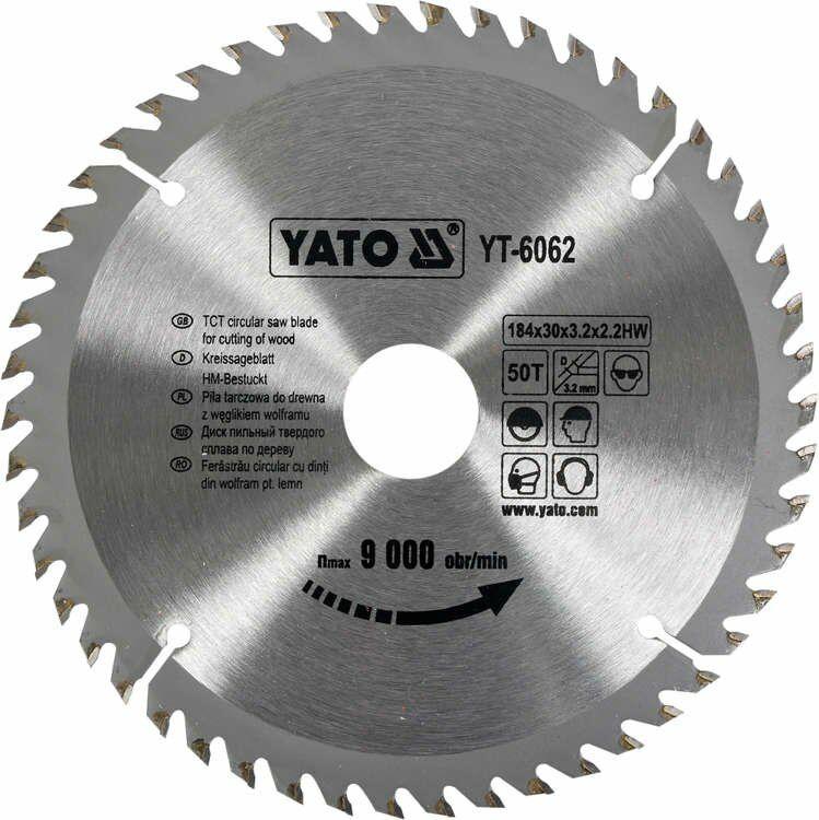 TARCZA WIDIOWA 184X50TX30 MM Yato YT-6062 - ZYSKAJ RABAT 30 ZŁ
