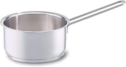 Fissler Rondel ze stali nierdzewnej (Ø 14 cm, 1 litr)  bez pokrywki, bez powłoki, do kuchenek indukcyjnych