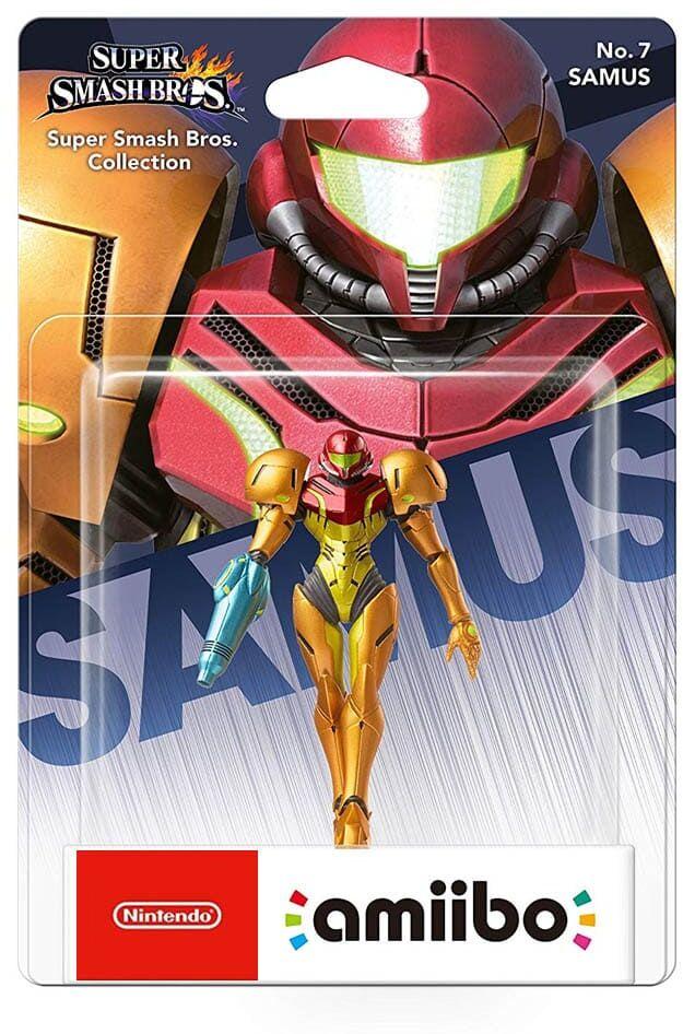 Samus No. 7/ Super Smash Bros. Collection / Figurka Amiibo / Warszawa