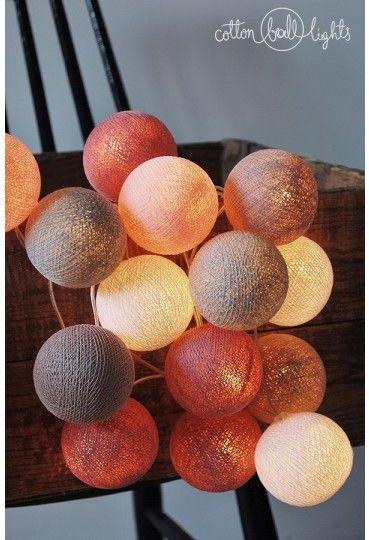 Kolorowe kulki LED kompozycja - Petit