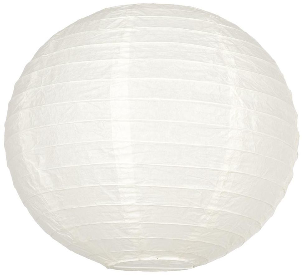 Kula papierowa GOA 30 x 30 cm biała E27 INSPIRE