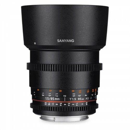 Samyang 85mm T1.5 Pentax VDSLR