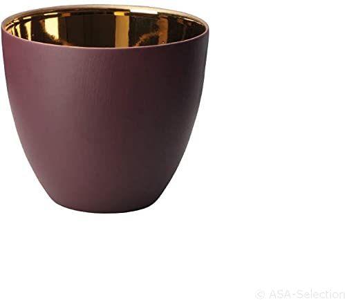 ASA lampion z porcelany, czerwony, 7,2