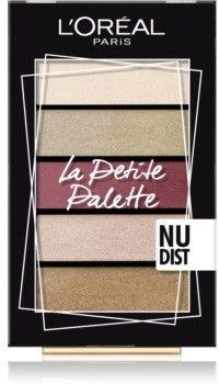 LOréal Paris La Petite Palette paleta cieni do powiek odcień Nudist 5 x 0,8 g