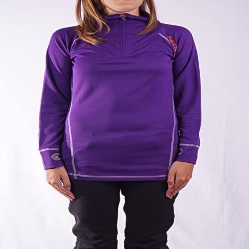 Nitro Snowboards Bella koszulka termiczna damska, liliowa, rozmiar M