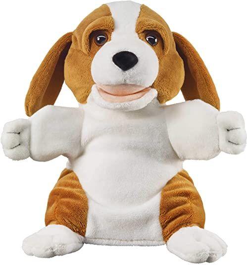 Bauer Spielwaren 11847 pluszowe zwierzątko w kolorze brązowo-białym