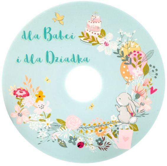 Płyta DVD TS dla Babci i Dziadka wianek (DVD-R 4,7GB 16x)