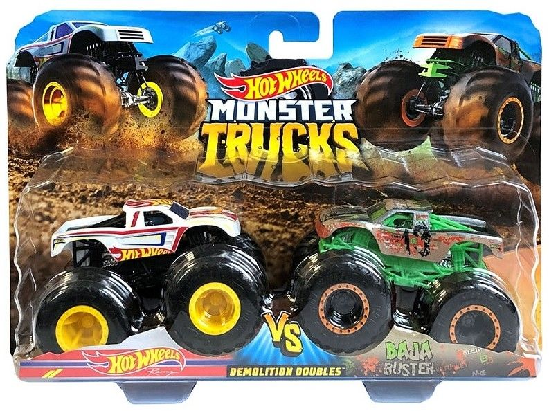 Hot Wheels - Monster Truck 2pak Raijyu vs Koumori GJF66
