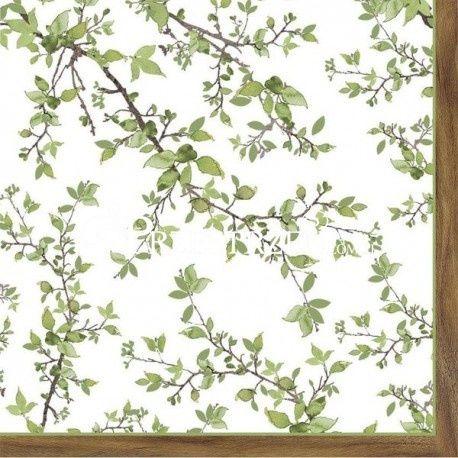 SERWETKI PAPIEROWE - Gałązki z listkami - Natura (NTRA)
