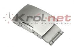 Zapięcie bransoletowe 22x10 mm z bocznym przyciskiem