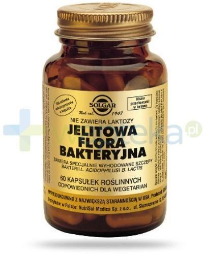 SOLGAR Jelitowa flora bakteryjna 60 kapsułek