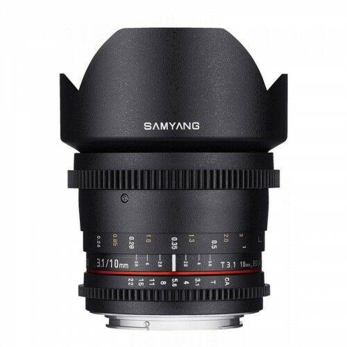 Samyang 10mm T3.1 Canon VDSLR