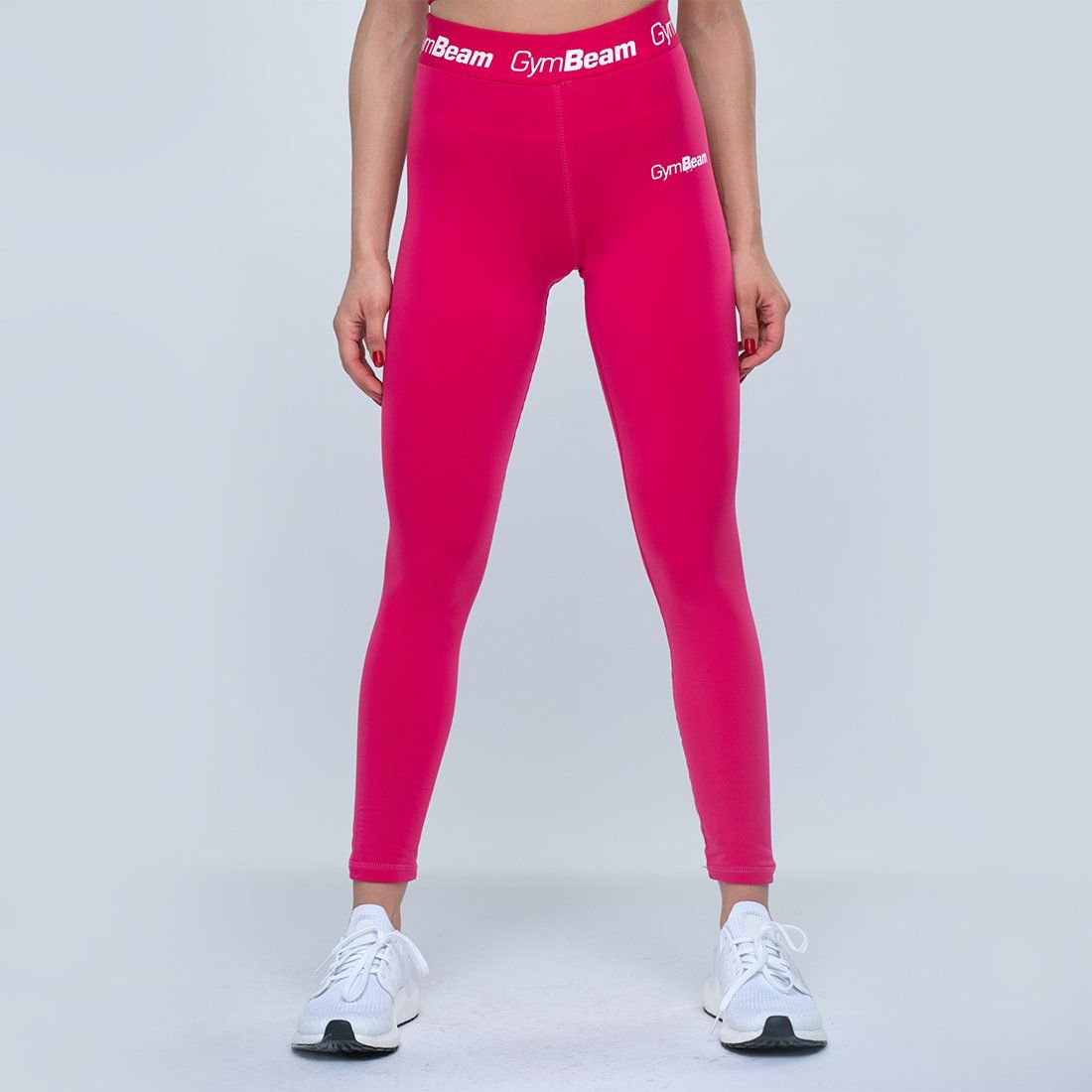 GymBeam Damskie legginsy Simple Fuchsia