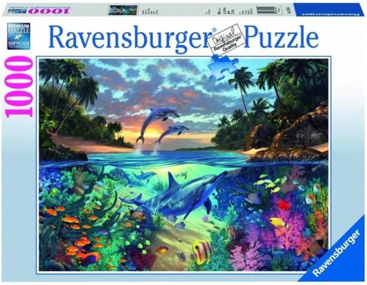 Puzzle 1000 Koralowa zatoka - Ravensburger