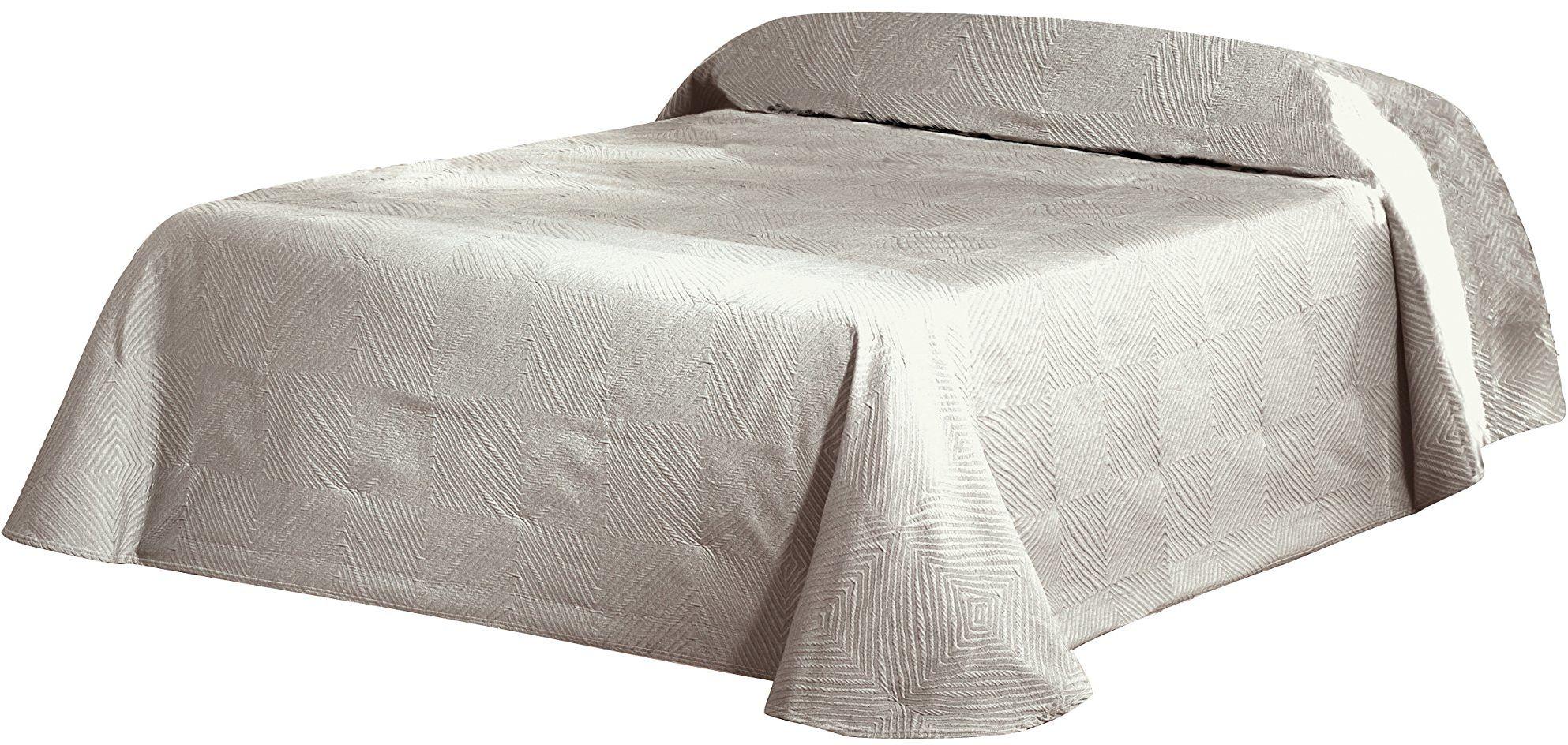 Eysa 235 cm 75 poliester 25% bawełna narzuta piramiamidowa, len 01, 200