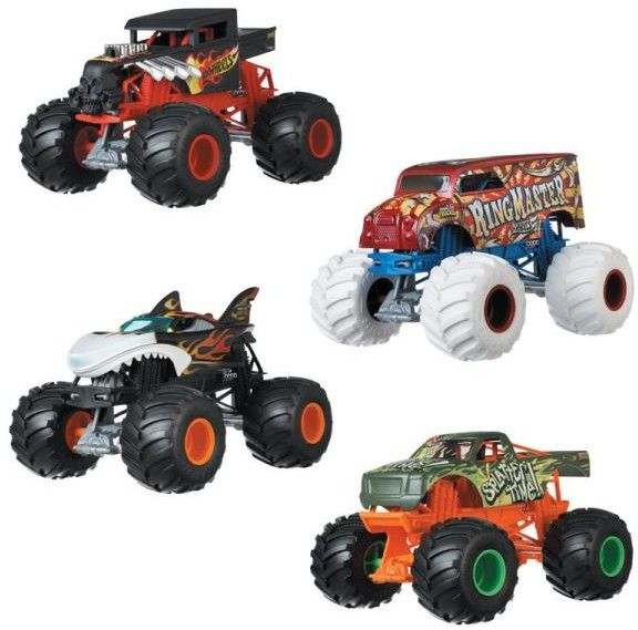 Hot Wheels - Monster Truck H.W.S. F. Hot wheels Special Forces GJF11